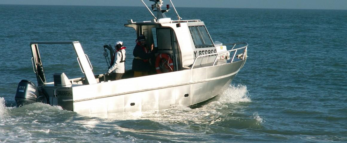 Des moyens nautiques intervenant sur le littoral normand
