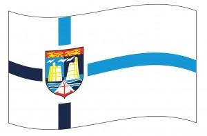 Commune SAINT-VAAST-LA-HOUGUE  logo Drapeau flot bonne qual