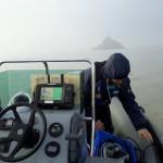Tombelaine : nouvelle station hydrologique