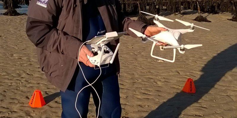 Le drone Phantom 4 (@SMEL)