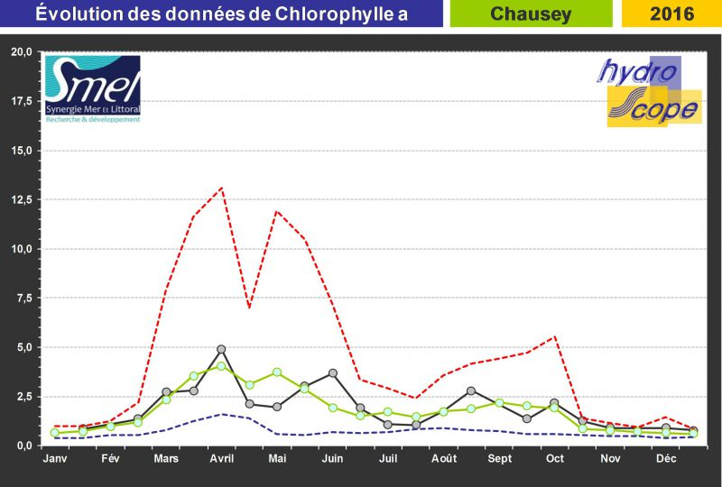 chlorophylle a – Chausey
