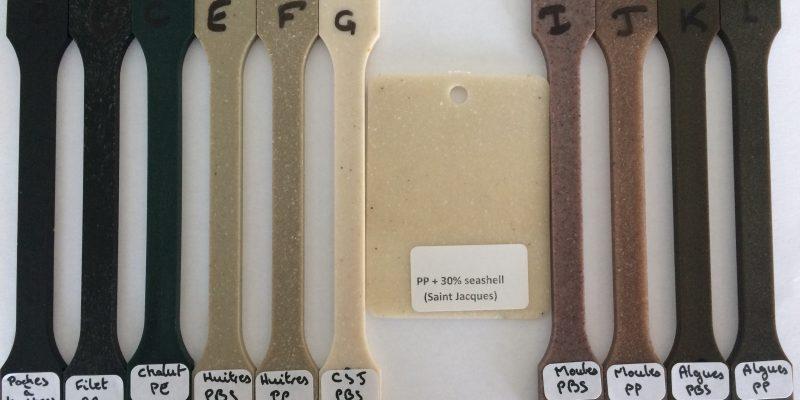 Eprouvettes ou test de matière plastique recyclable (@SMEL)