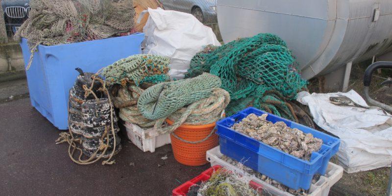 Différents déchets utilisés lors de l'exprérimentation SEAPLAST (@SMEL)
