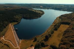 Barrage du Gast : en plongée et par drone