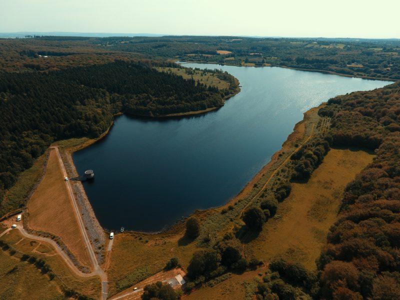 Vue aérienne du barrage de Gast (@SMEL)