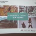 Présentation du projet de valorisation des sargasses, SNOTRA, à Marseille.